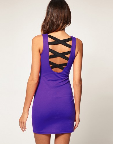 Dress with Strappy Back