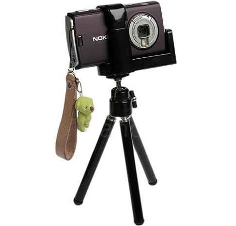 Mobile holder with tripod