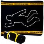 Crime scene blanket