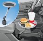 Car swivl tray