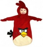 Red Angry birds infant costume