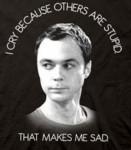 I cry t-shirt
