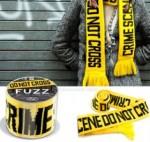 Crime scene scarf