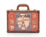 Cafe Paris Suitcase