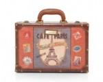 Cafe Paris Suitcase